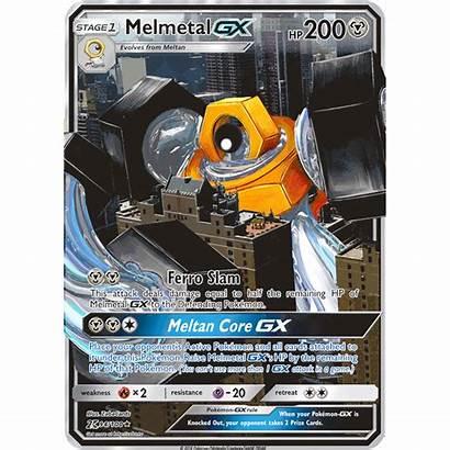 Gx Melmetal Pokemon Card Break Custom Zaba