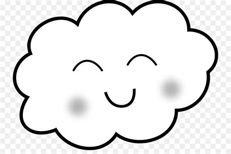 Drawing Cloud Rain Clip Art