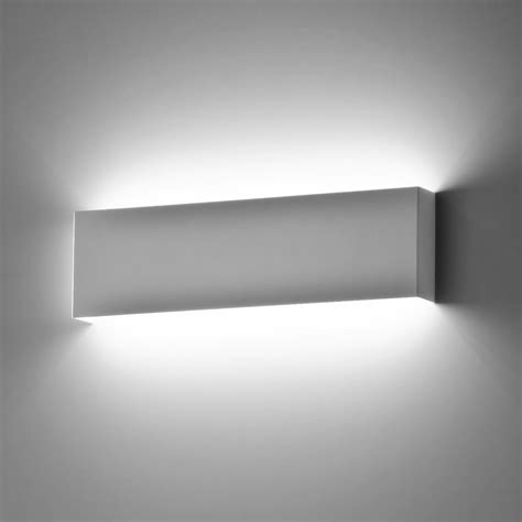 Applique A Led Da Parete by Applique Lada Da Parete A Led Moderno Luce Calda Bianco