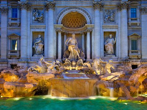 How Fendi Is Saving the Trevi Fountain