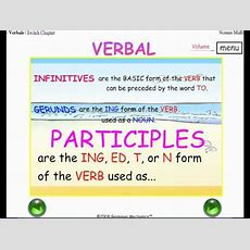 Infinitives, Gerunds, Participles  3 Verbals  Easy English Grammar Youtube