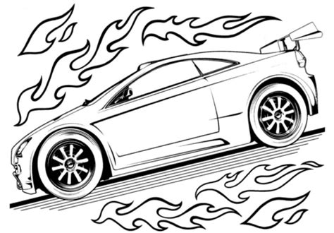 Race Car Coloring Pages Free download best Race Car