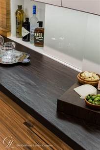 kitchen island dining wenge wood counter with planed distressing in ma