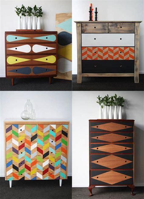 peinture pour tissus canapé relooker des meubles peut être facile et amusant archzine fr