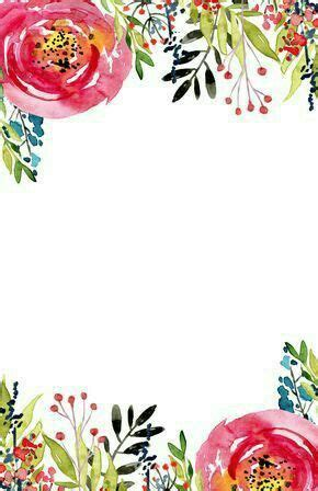 blank invites templates printable  floral
