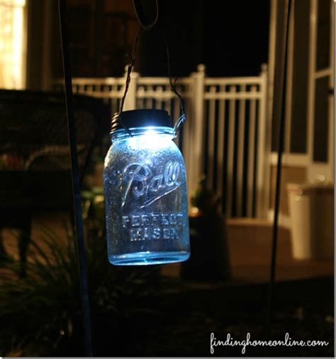solar light diy jar crafts