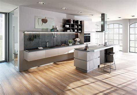 Schwebende Küche Mit Insel Inox Xtreme Weiß