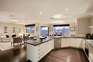 Maison Americaine Interieur : cuisine americaine decoration interieur ~ Zukunftsfamilie.com Idées de Décoration