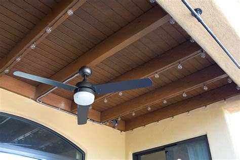 how to install string lights on a porch the home depot blog
