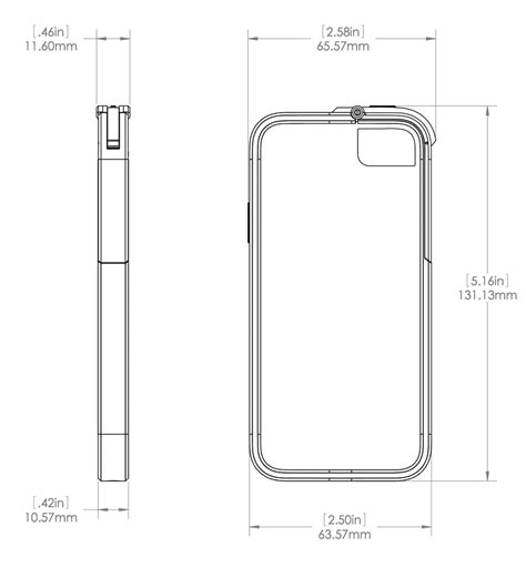 iphone dimensions image gallery iphone 5 dimensions