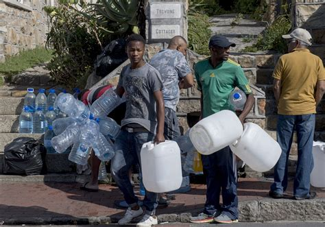 'day Zero' Water Shutoff Looms In South Africa's Cape