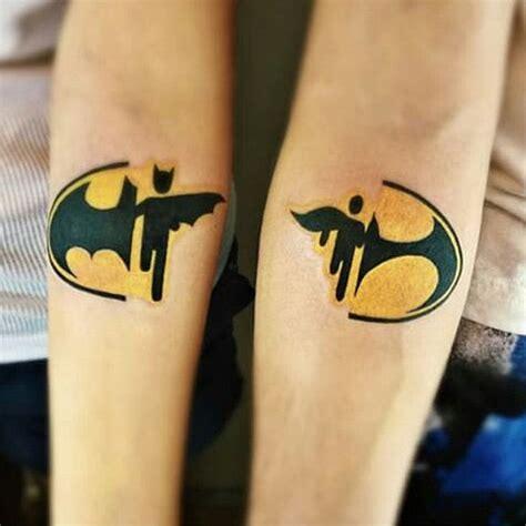 Tatouage Geeks Couple De Batman Et Batwooman
