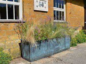 The, Rectangular, Copper, Garden, Planter, -, Large, Narrow