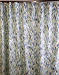 fabric shower curtain custom high end waverly bits n pieces