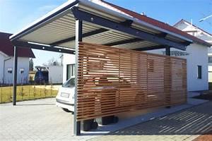 Carport Verkleiden Bilder : carport seitenwand mit rhombus verkleidung stahlbau n gele ~ Indierocktalk.com Haus und Dekorationen