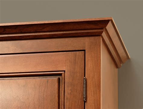 crown molding on top of cabinets make a custom trim molding with your router toproutertables
