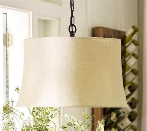 chandelier l shades pottery barn drum pendant replacement shades pottery barn