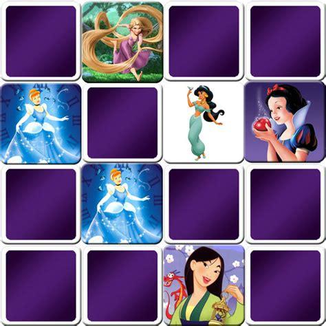 great memory game  girls disney princesses