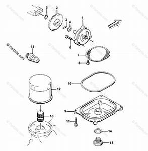 Arctic Cat Atv 1999 Oem Parts Diagram For Oil Filter  Pump