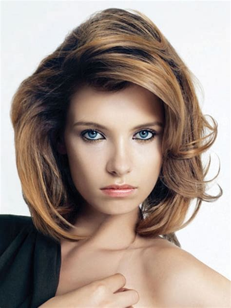 shoulder length layered hairstyles   haircuts