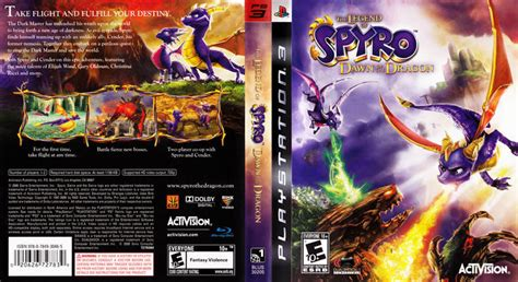 freecoversnet  legend  spyro dawn   dragon