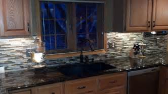 How To Install Glass Mosaic Tile Backsplash In Kitchen Mosaic Tile Backsplash In Kitchen