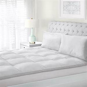 superior queen mattress topper hypoallergenic white down With down alternative feather bed