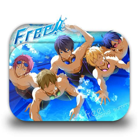 Anime Folder Icons Free Anime Free Eternal Summer Folder Icon By Minacsky Saya On