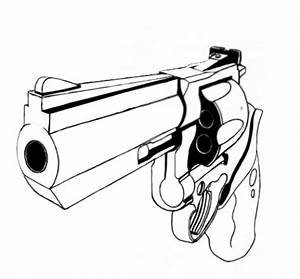 how to draw a gun drawing on video