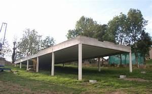 construction d39une maison a pilotis pres de firminy With construction maison sur pilotis