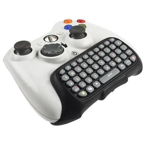 xbox keyboard controller 360 game chatpad keypad text input pc