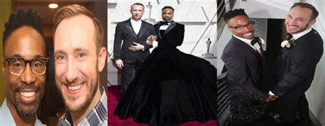 Actor Billy Porter Wears Gown During Oscars Accompanied
