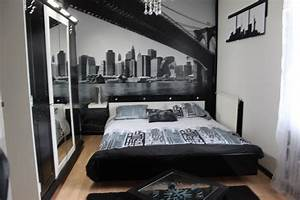 Décoration New York Chambre : d coration chambre adulte new york ~ Melissatoandfro.com Idées de Décoration