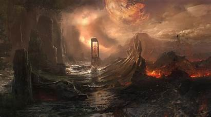 Fantasy Landscape Artwork Desktop Wallpapers Backgrounds Mobile