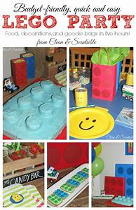 Quick and Easy Lego Party Ideas - Clean and Scentsible