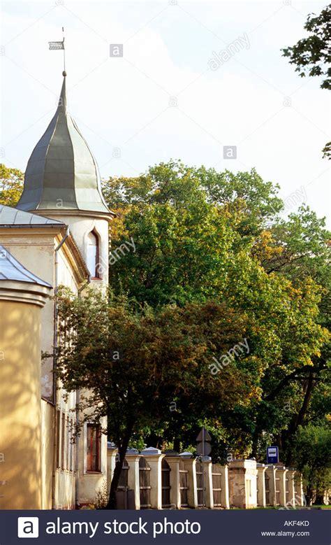 Lettland, Jekapils (Jakobsstadt), Burg Krustpils im gleichnamigen Stock Photo: 8561212 - Alamy