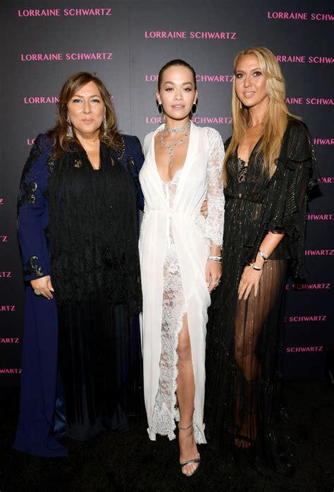 Rita Ora Lorraine Schwartz Eye Bangles Collection Launch