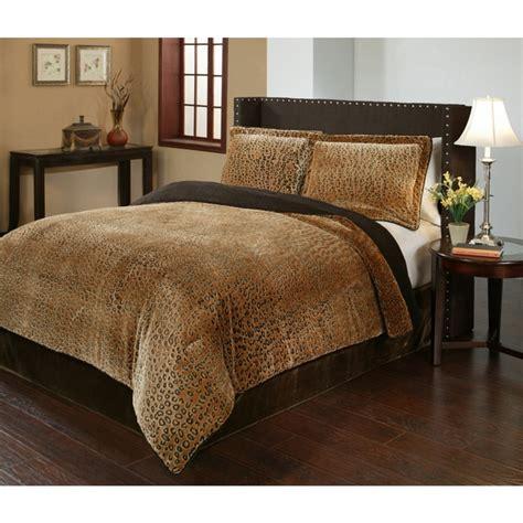 shop cheetah velvet plush print  piece comforter set