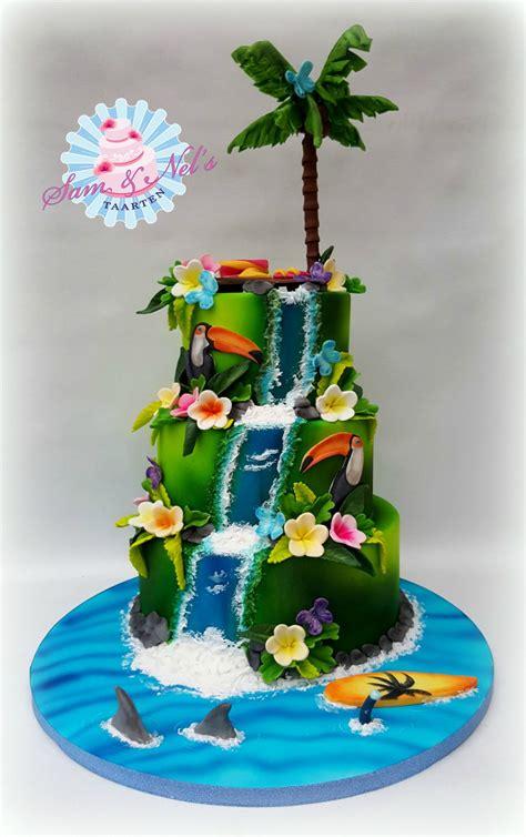Tropical Cake Cakecentralcom