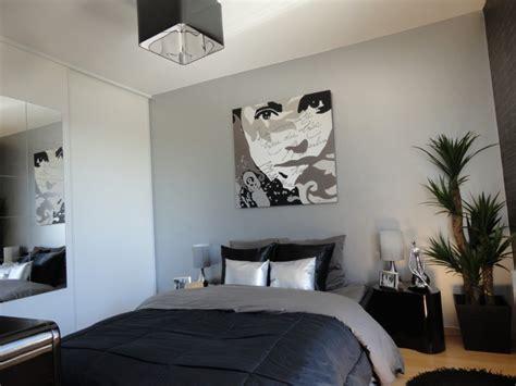 chambre gris noir davaus rideaux chambre à coucher et noir