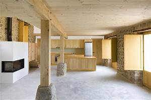 Diseño de casa rústica de piedra [planos] Construye Hogar