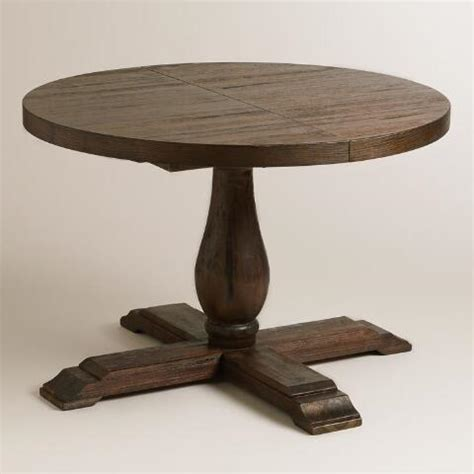 Round To Oval Java Greyson Extension Table  World Market