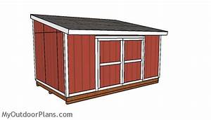 10x16 Garden Shed Plans