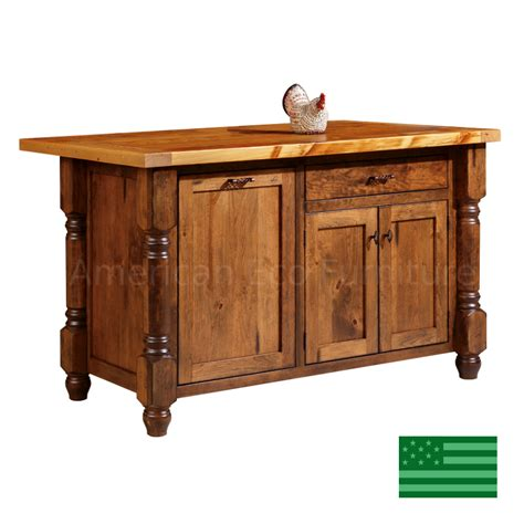 provence kitchen island   usa american eco furniture