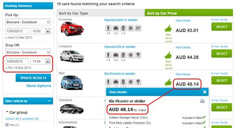 Rent A For A Day by How Are Car Hire Days Calculated