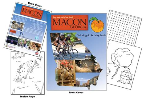 macon convention and visitors bureau coloring books macon bibb cvb coloring