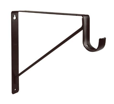 shelf brackets rubbed bronze shelf and closet rod support