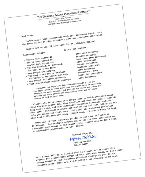 insurance letter template free insurance marketing letters free insurance quotes