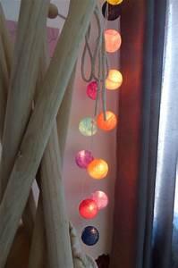 Guirlande Deco Chambre : chambre de lily 6 ans photo 6 17 guirlande lumineuse ~ Teatrodelosmanantiales.com Idées de Décoration