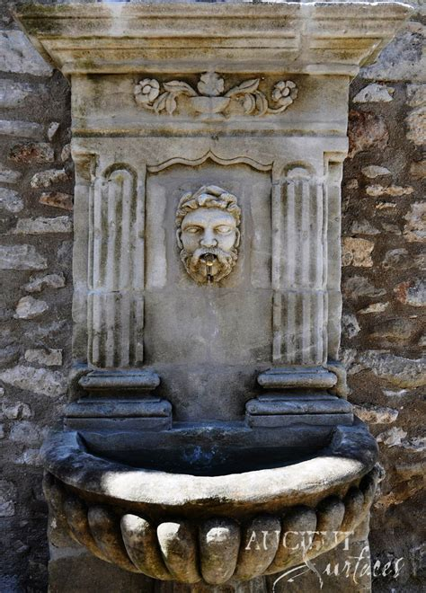 page    antique limestone wall fountains salvaged